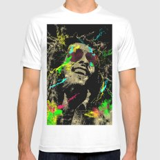 Under the reggae mode Mens Fitted Tee SMALL White