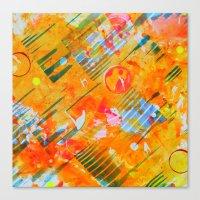 Fly Through Hoops Canvas Print