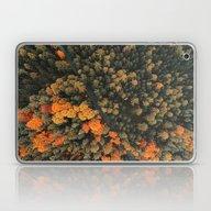 Forest Orange 4 Laptop & iPad Skin