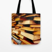 books and books and books... Tote Bag