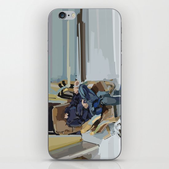 some kind of time dimension iPhone & iPod Skin