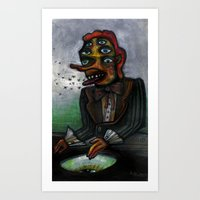 The Eye In The Ointment Art Print