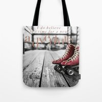 Adventure is now Tote Bag