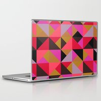 Laptop & iPad Skin featuring colour + pattern 19 by Georgiana Paraschiv