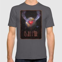 all i got Mens Fitted Tee Asphalt SMALL