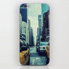 New York Yellow Cabs iPhone & iPod Skin