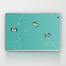 Spin a Message  Laptop & iPad Skin
