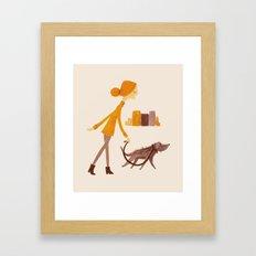 DUMBO Morning  Framed Art Print