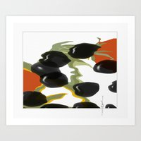 antipasto / olives Art Print