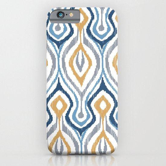 Sketchy Ikat - Saddle iPhone & iPod Case