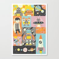 Canvas Print featuring Give Us Space by Greg Abbott