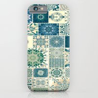 Spring Pale Oriental Rug iPhone 6 Slim Case