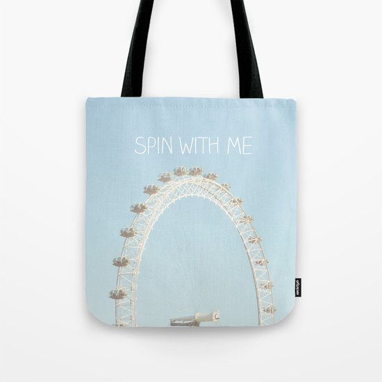 Spin with me Tote Bag