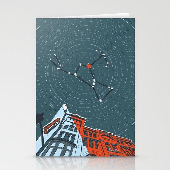 Hunter, Hunter Stationery Card