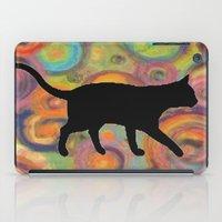 Psychedelic Cat iPad Case