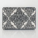 Charcoal Lace Pencil Doodle iPad Case