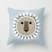 The Lion, The Witch And … Throw Pillow