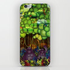 Jungle of colors iPhone & iPod Skin