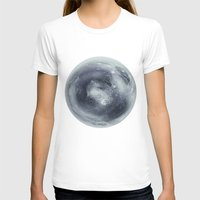 Pluto Womens Fitted Tee White SMALL