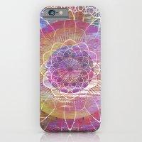 Glitch Mandala iPhone 6 Slim Case