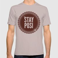 Stay Posi Mens Fitted Tee Cinder SMALL