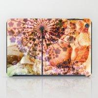 dandelion in warm tones iPad Case