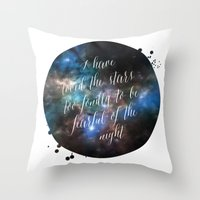 Loved The Stars Throw Pillow