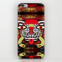 ALL 'EM PLUGGERS iPhone & iPod Skin