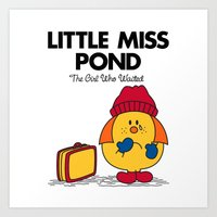 Little Miss Pond Art Print
