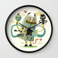 Promenade (without Backg… Wall Clock