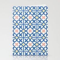 Floor Tile 3 Stationery Cards