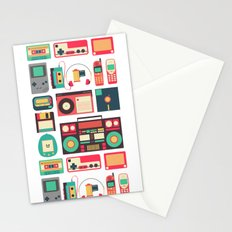 Retro Technology 1.0 Stationery Cards