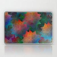 Skeleton Leaf Abstract 2 Laptop & iPad Skin