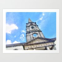 Christchurch Cathedral, … Art Print
