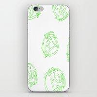 green is big! iPhone & iPod Skin