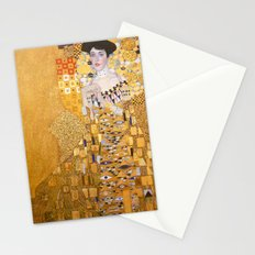 Gustav Klimt - The Woman in Gold Stationery Cards