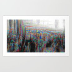 And the longer you linger, the linger you long. 02 Art Print