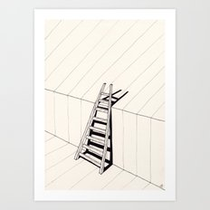 there's no way out of here Art Print