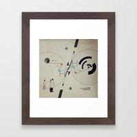 Reverse Engineering Dept… Framed Art Print