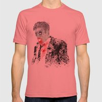 Walker Mens Fitted Tee Pomegranate SMALL