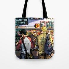 William and Theodore 05 Tote Bag