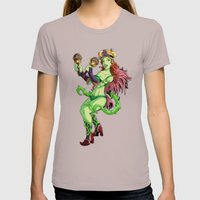 Carnival Poison Ivy Womens Fitted Tee Cinder SMALL