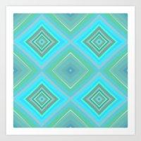 Pattern1 Art Print