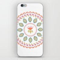 Suzani inspired floral 3 iPhone & iPod Skin