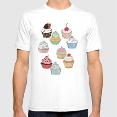 Cupcake dreaming White Mens Fitted Tee SMALL