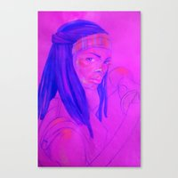 Among the Dead Canvas Print