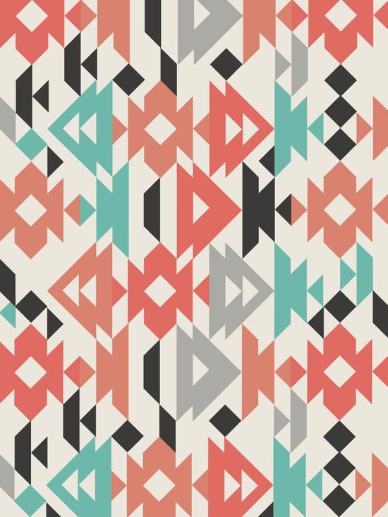 Caleido Triangle Canvas Print