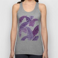 Purple Palms Unisex Tank Top