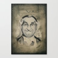 Grandpa Munster Canvas Print