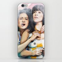 These Are The Broads You… iPhone & iPod Skin